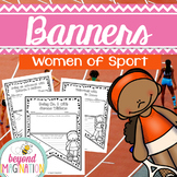 Printable Women's History Women of Sport Classroom Banners