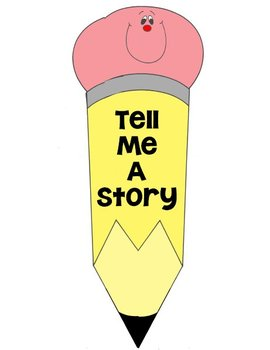 Printable Writing Center - Tell Me A Story - Story Starter