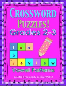 Printables Morning Work Crossword Puzzles No Prep
