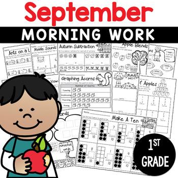 Printables September  Print and Do- No Prep Math & Literac
