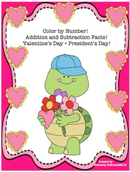 Printables! Valentine's Day + President's Day Math Centers