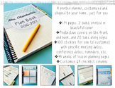 Printed and Shipped Teacher Planner