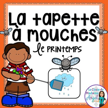 Printemps:  Spring Themed Game in French - La tapette à mouches