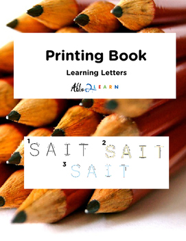Printing Book : Learning Letters