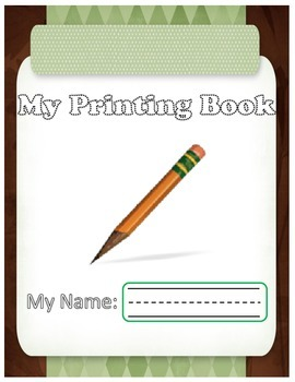 Printing Booklet -Upper and Lower case