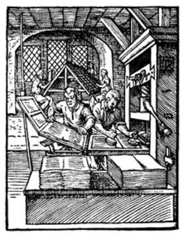 Printing Press vs Internet Class Debate