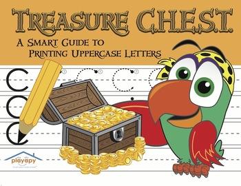 Printing Uppercase Letters Workbook