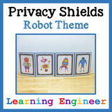 Writing Office, Privacy Shield, Testing Shield, Focus Shield