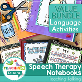 Speech and Language Therapy - Interactive Language Notebooks