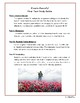 Private Peaceful Final Test/Assessment
