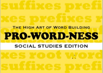 ProWordNess - Social Studies Edition