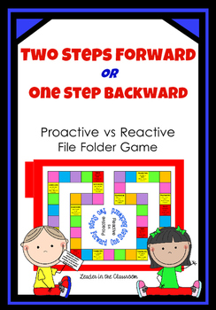 Leader lesson:Proactive or Reactive File Folder Game -By L
