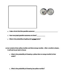 Probability 12 - Probability Unit Test