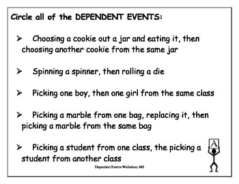 Probability Dependent Event Walkabout