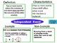 Probability Frayer Model Vocabulary (Vocabulary they will