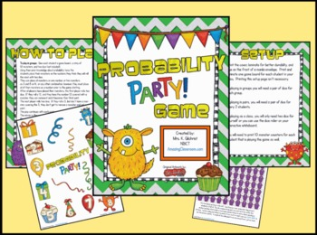 Probability Party Game for Your Entire Class!