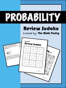 Probability - Review Sudoku