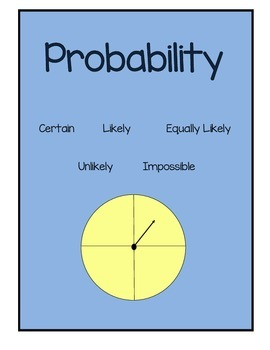 Probability Unit Plan, Test and Rubric