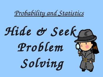 Probability and Statistics PowerPoint and Student Sheets 6