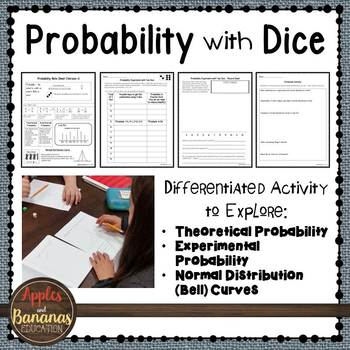 Probability with Dice - Theoretical and Experimental Proba