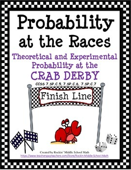 Probability-Theoretical and Experimental-Crab Derby Race C