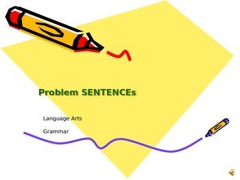 Problem Sentences