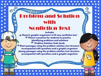 Problem Solution Nonfiction Text Structure