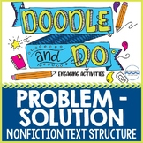 Problem - Solution Nonfiction Text Structure - Doodle Note