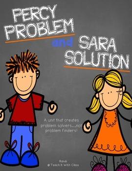Problem & Solution {Percy Problem & Sara Solution}