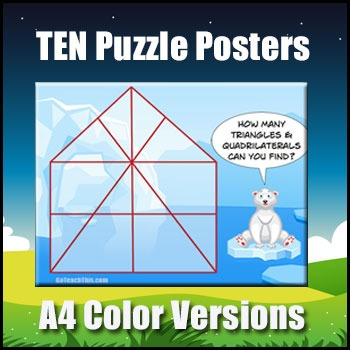 Problem Solving Puzzles - Collection of 10 Problem Solving