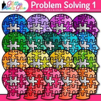 Problem Solving Clip Art 1 - Growth Mindset - Critical Thi