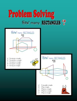 Problem Solving:  How many rectangles?