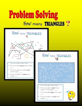 Problem Solving:  How many triangles?