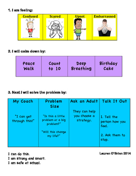 Coping Skills Poster