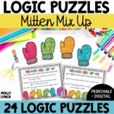 Problem Solving Mitten Mix Ups {Logic Puzzles}