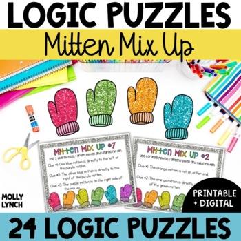 Problem Solving Mitten Mix Ups {Logic Puzzles}