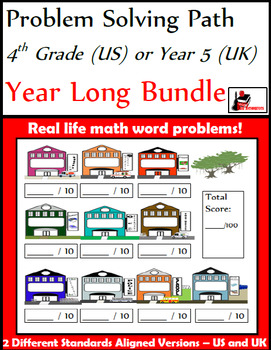 Problem Solving Path - 4th Grade/ Year 5 - A Year Long Plan