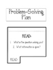 Problem Solving Plan FOLDABLE. Word Problems. Interactive