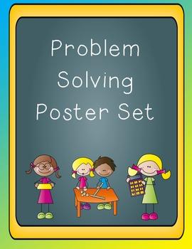 Problem Solving Poster Set