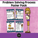 Problem Solving Process for Maths Poster Pack Middle/Upper