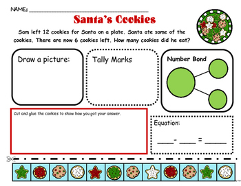 Problem Solving: Reindeer, Cookies, Candy Canes and Ginger