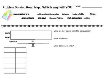 Problem Solving Road Map