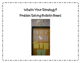 Problem Solving Strategies Bulletin Board