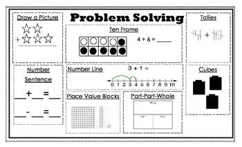 Problem Solving Strategies Graphic