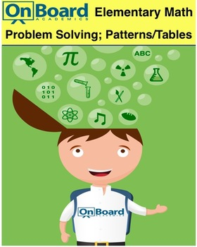 Problem Solving Strategies, Patterns & Tables-Interactive Lesson