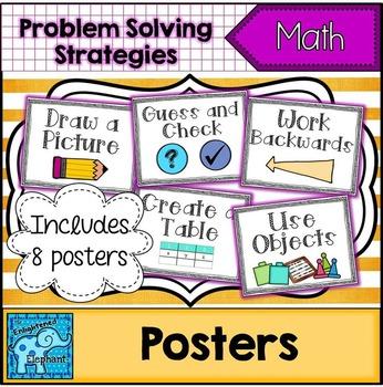 Problem Solving Strategies Posters