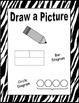 Problem Solving Strategies Posters/Booklet with Zebra Stri