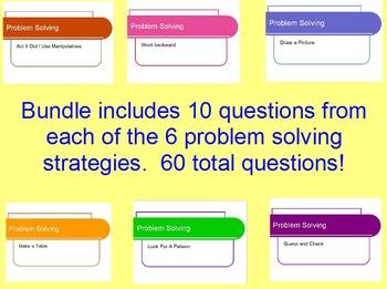 Problem Solving Strategy Bundle - Covering each problem so