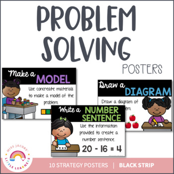 Problem Solving Strategy Posters