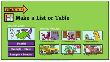 Problem Solving Sample - Make a List or Table